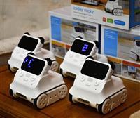 AI搭載!中国の教育ロボ…大商が200台寄贈 大阪市に