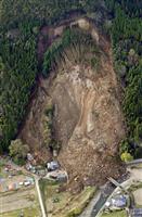 大分の山崩れ、原因は地下水 来月にも本格復旧工事へ