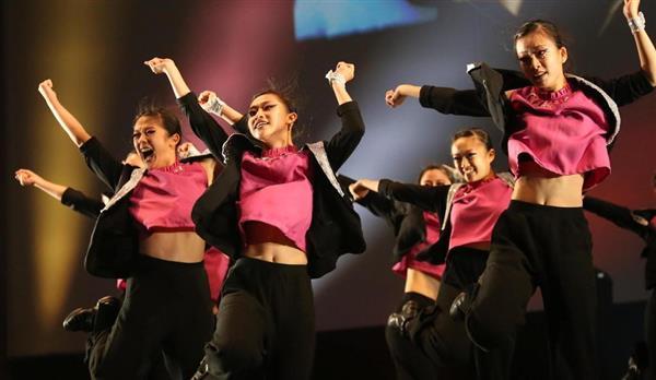 高校ダンス部選手権で優勝した羽衣学園
