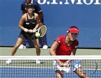 【全米テニス】精彩欠いた加藤未唯、二宮真琴の日本代表ペア 銅メダルのアジア大会が影響