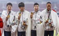 【高平慎士のチェックアイ】アジア大会・男子400メートルリレーで走者組み替え「違う組み…