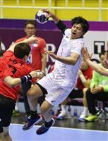 【アジア大会】日本、1点差で銅メダルならず 男子ハンド3位決定戦