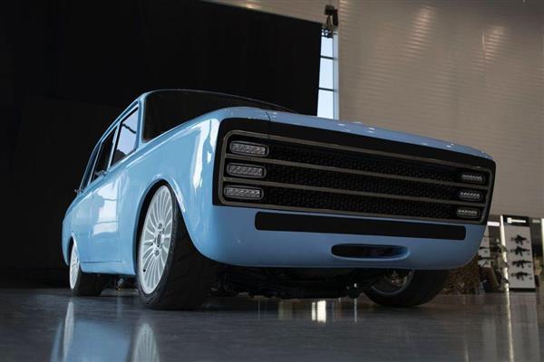 カラシニコフによる電気自動車のコンセプトモデル「CV-1」。PHOTOGRAPH COURTESY OF KALASHNIKOV GROUP