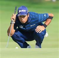 【米男子ゴルフ】松山英樹が最後に前向き材料 最終9番でバーディー