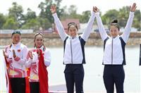 【アジア大会】女子カヤックの小野祐佳が銅メダル「100%の力出せた」 カヌー