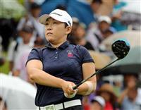 【女子ゴルフ】申ジエ単独首位に 5レディース第2日、比嘉真美子が1打差で追う