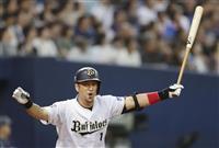 【プロ野球】オリックス、中島宏之3ランで大逆転劇完結 プロ初のサヨナラ弾「めっちゃうれ…