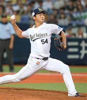 【プロ野球】オリックス黒木優太、今季初勝利「3人で切れて良かった」