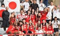 【アジア大会】バスケ女子、4大会連続銅メダル 速攻で台湾を逆転