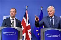 【英EU離脱】アイルランドとの国境問題、溝埋まらぬまま 首席交渉官会合