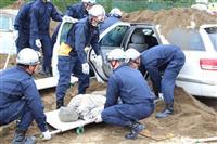 巨大地震へ備え万全に 千葉市で九都県市合同防災訓練