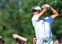 【米男子ゴルフ】松山英樹、67で25位に浮上 ウッズは16位