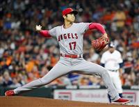 【MLB】一回は無失点に切り抜ける 3カ月ぶり先発の大谷翔平