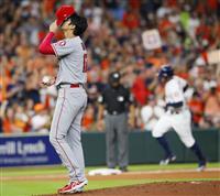 【MLB】大谷翔平、三回に先制2ラン浴びる 2失点49球で降板
