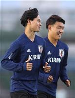 【サッカー日本代表】23選手そろって練習 堂安律ら海外組4人合流