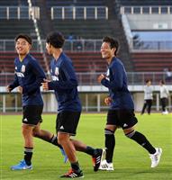 【サッカー日本代表】初代表の20歳、堂安律「1年前に呼ばれてもやれた」 世代交代に挑む