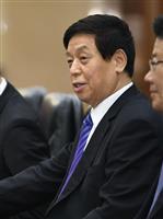 北朝鮮建国70周年 中国が序列3位の栗戦書氏を派遣 習近平氏は訪朝せず
