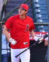 【MLB】大谷翔平、左腕相手に先発 ソーシア監督「状態は良くなっている」
