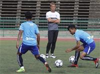 【サッカー】本田圭佑選手が初の指揮 GM務めるカンボジア代表