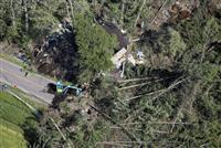 【北海道震度6強地震】「つぶれた家に夫婦が」 土砂崩れの厚真町、懸命に続く捜索
