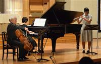 世界的チェロ奏者、西宮・仁川学院で演奏披露