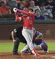 【MLB】右肘に新たな損傷の大谷翔平が17号 1年目で松井秀喜を抜き日本選手単独2位