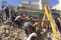 シリア北西部で大規模攻撃観測 トルコ、難民・対クルドで警戒