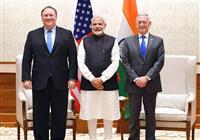 米印2プラス2初開催 軍事情報共有の協定、合同演習も 中国のインド洋進出警戒