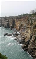 【台風21号】名勝「三段壁」で大規模崩落…「高波は想像を絶する破壊力」 和歌山・白浜
