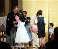中村学園・中村量一理事長の叙勲記念祝賀会 福岡
