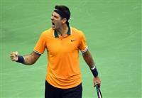 【全米テニス】デルポトロが決勝進出 錦織圭はジョコビッチ戦 男子単