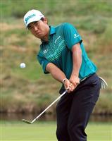 【米男子ゴルフ】松山英樹が64で3打差3位 ウッズは12位後退 プレーオフ第3戦、BM…