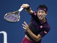 【全米テニス】錦織圭は第1セット落とす 準決勝ジョコビッチ戦 男子単