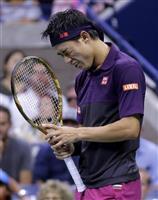 【全米テニス】錦織圭は2セット連取される 準決勝ジョコビッチ戦 男子単