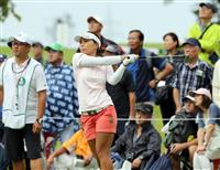 【女子ゴルフ】岩橋里衣が3位浮上 初のシード権確保に前進 日本女子プロ選手権