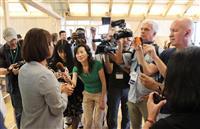 【東京五輪】「今回の復興五輪も必ず成功」 海外の記者ら東日本大震災の被災地を取材