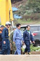 【北海道震度7地震】被災地視察の安倍晋三首相「すさまじい被害の爪痕を目の当たりに」