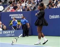 【全米テニス】劣勢にイライラのS・ウィリアムズ、主審に「嘘つき! 謝れ!」