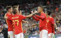 【欧州サッカー】スペインが逆転勝ち 欧州ネーションズリーグ