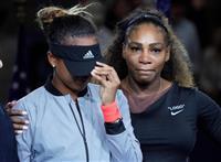 【全米テニス】「ブーイングやめて」敗れたS・ウィリアムズが客席に懇願 「彼女はすばらし…