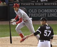 【MLB】大谷翔平が満塁で三塁打 相手投手と交錯、負傷