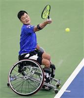 【全米テニス】国枝慎吾「開き直った」 苦しみながら決勝へ