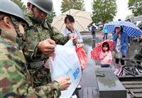 【北海道震度7地震】即応予備自衛官が給水支援 断水続く厚真町