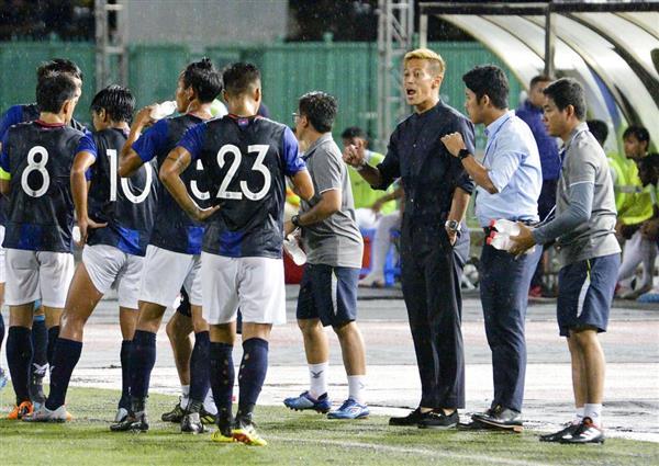 サッカー】本田圭佑選手が初采配 カンボジアで初陣は飾れず - 産経ニュース