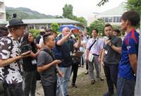【東日本大震災】海外メディアが発生7年半の被災地視察 「復興五輪」成功願う