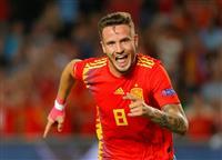 【欧州サッカー】スペインがクロアチアに大勝、ベルギーはアイスランド下す 欧州ネーション…