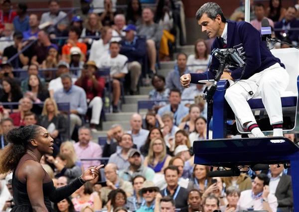 【全米テニス】女子決勝・大坂なおみ戦のラモス主審「ご心配なく」 S・ウィリアムズが批判…