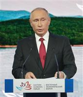 【前提なし平和条約】プーチン氏「思いつきだがジョークではない」 露外務省「日本への事前…