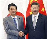 【日中首脳会談】安倍首相、10月訪中へ 習氏、拉致問題で日本支持