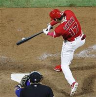 【MLB】大谷翔平は3打数2安打